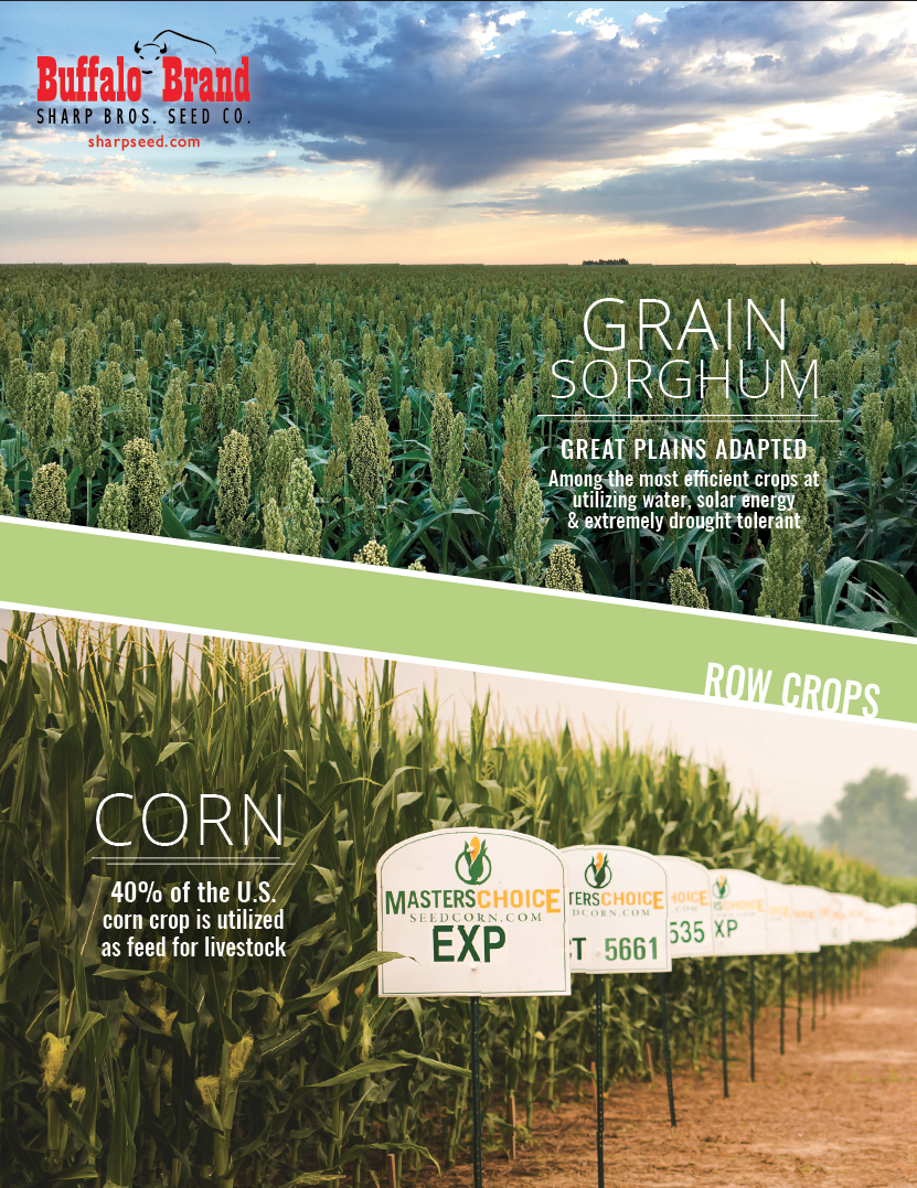 Sharp Bros. Seed Co. 2018 Milo-Corn Brochure - sharpseed.com